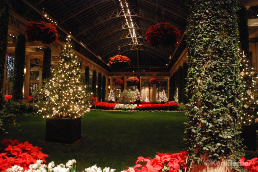 Longwood Gardens At Christmas Photos
