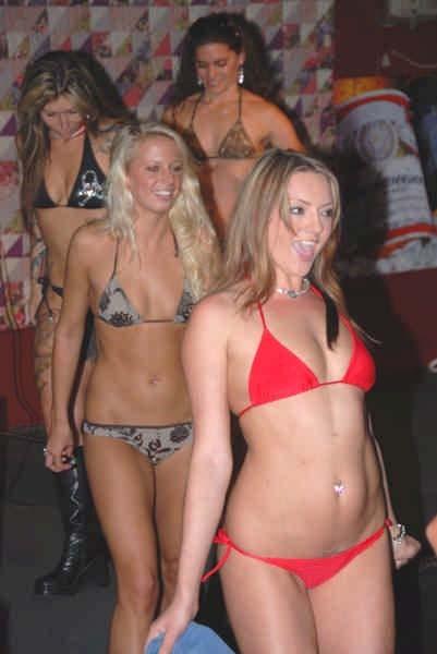 Bikini contest at weirs beach