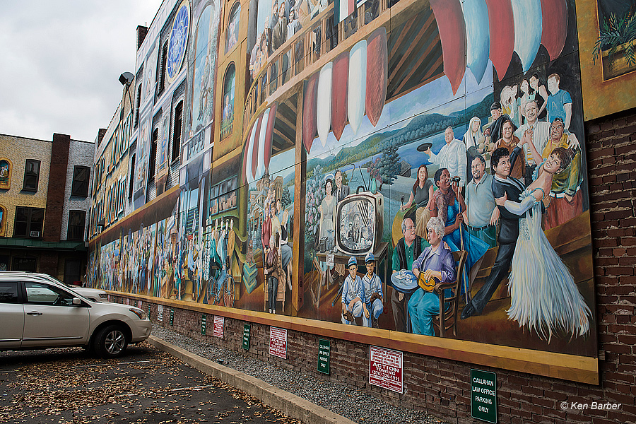 Michael pilato 39 s inspiration lycoming county 2014 photos for Mural inspiration