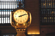 Photo:  Clock at Grand Central Terminal