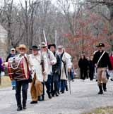 photo:  Militia at Allaire