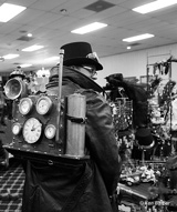 photo:  steampunk man