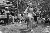 photo:  good lookng woman at Riverfest